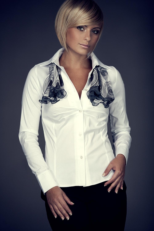 Dámská košile M021 white
