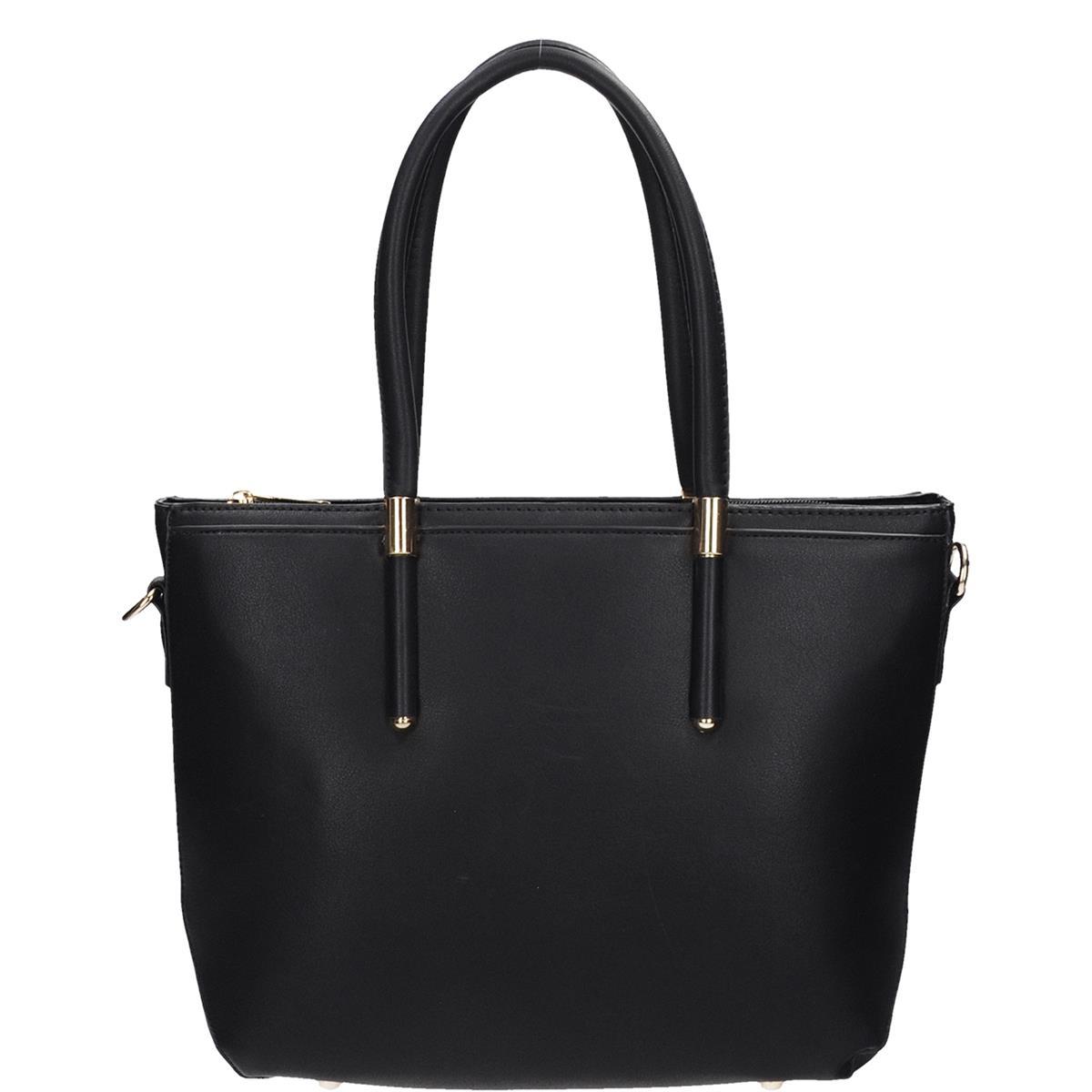 Dámská stylová černá kabelka do ruky