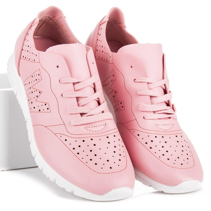 Dámské růžové tenisky pro sport