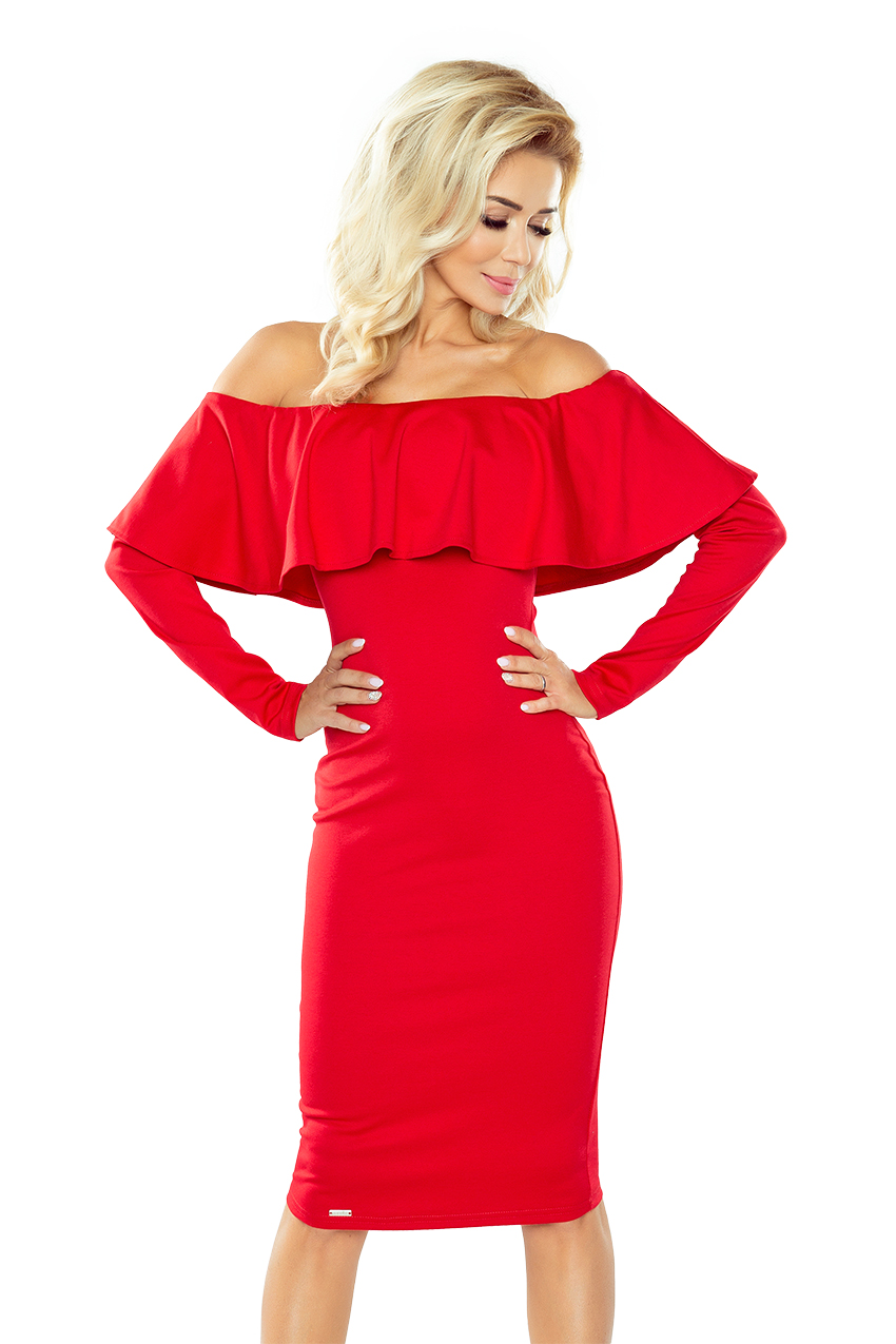 Dámské šaty 156-2 red