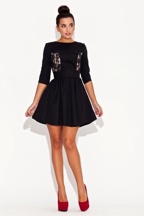 Dámské šaty K068 black