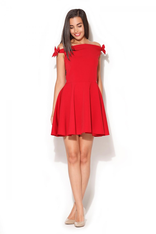 Dámské šaty K170 red