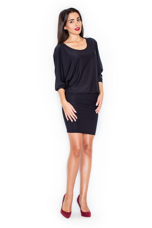 Dámské šaty K262 black