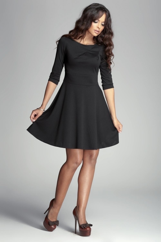 Dámské šaty M081 black