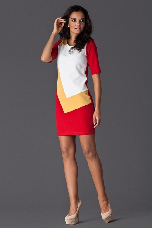 Dámské šaty M118 red