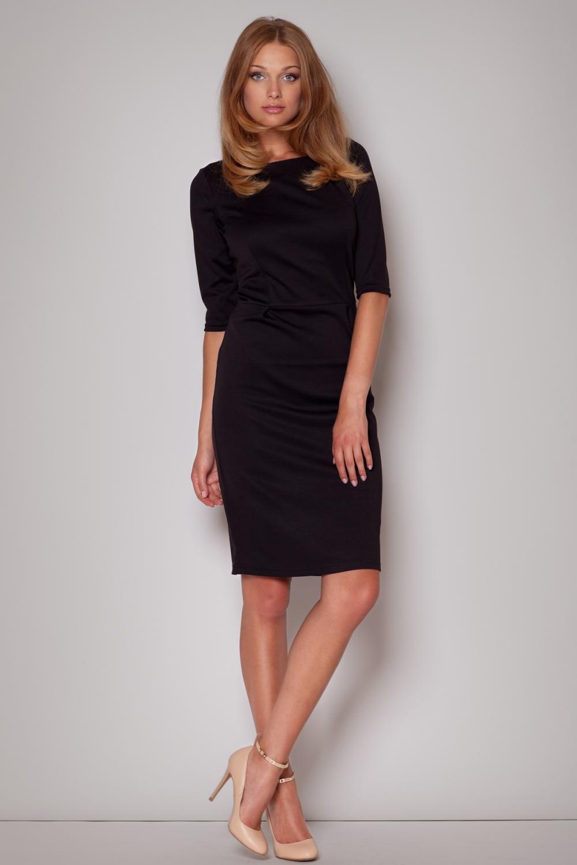 Dámské šaty M202 black