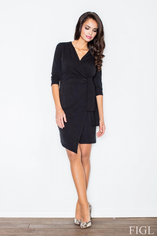 Dámské šaty M223 black