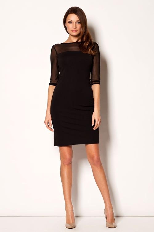 Dámské šaty M237 black