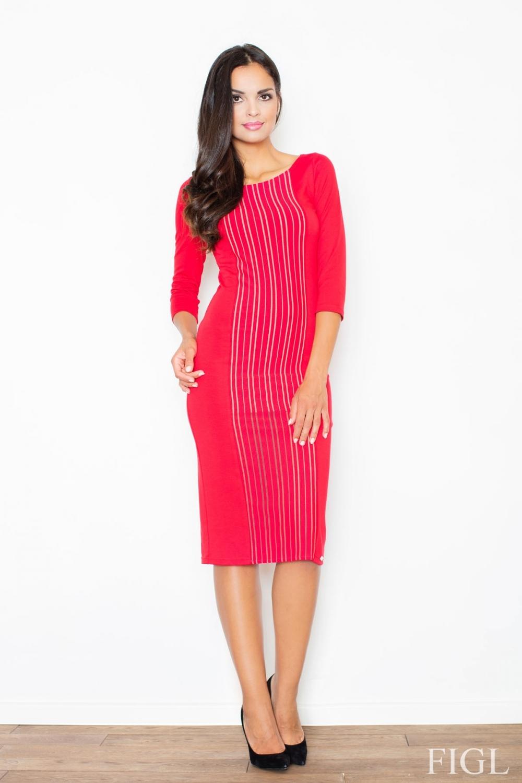 Dámské šaty M411 red