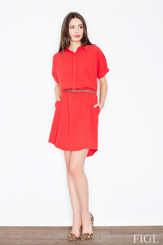 Dámské šaty M442 red