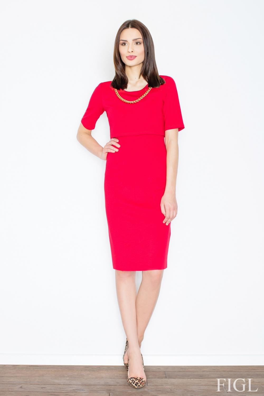 Dámské šaty M446 red
