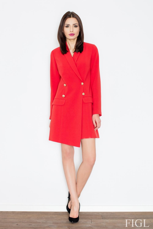 Dámské šaty M447 red