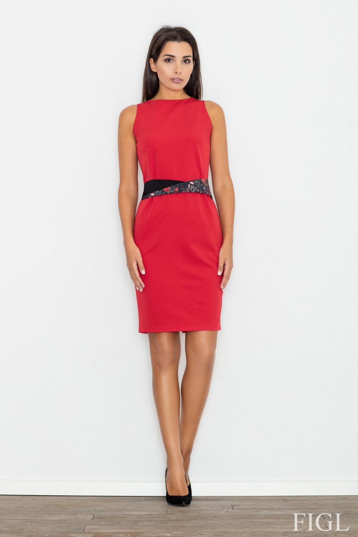 Dámské šaty M534 red