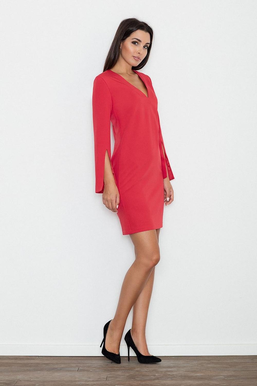 Dámské šaty M550 red