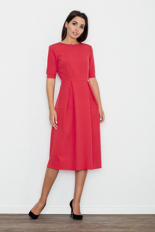 Dámské šaty M553 red