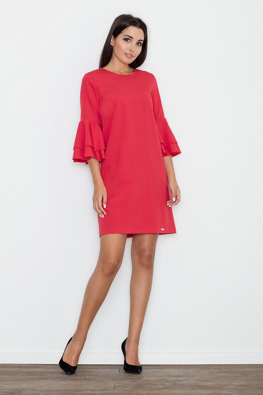 Dámské šaty M564 red