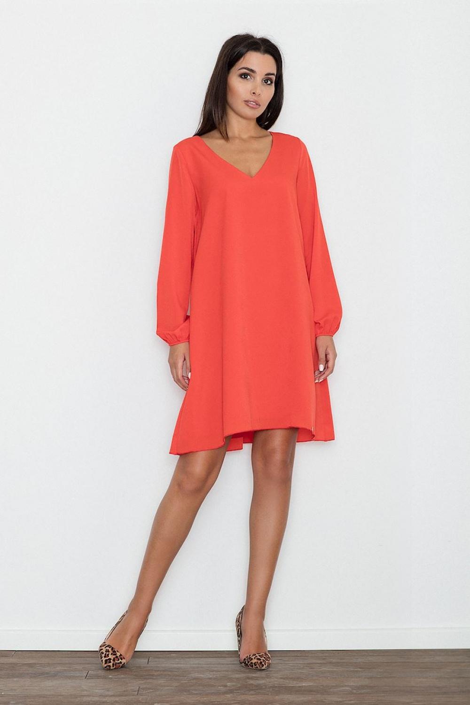 Dámské šaty M566 red