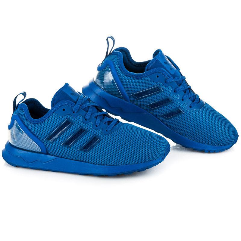 Dámské stylové modré sportovní tenisky Adidas