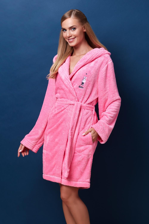 Dámský župan BB 7108 pink