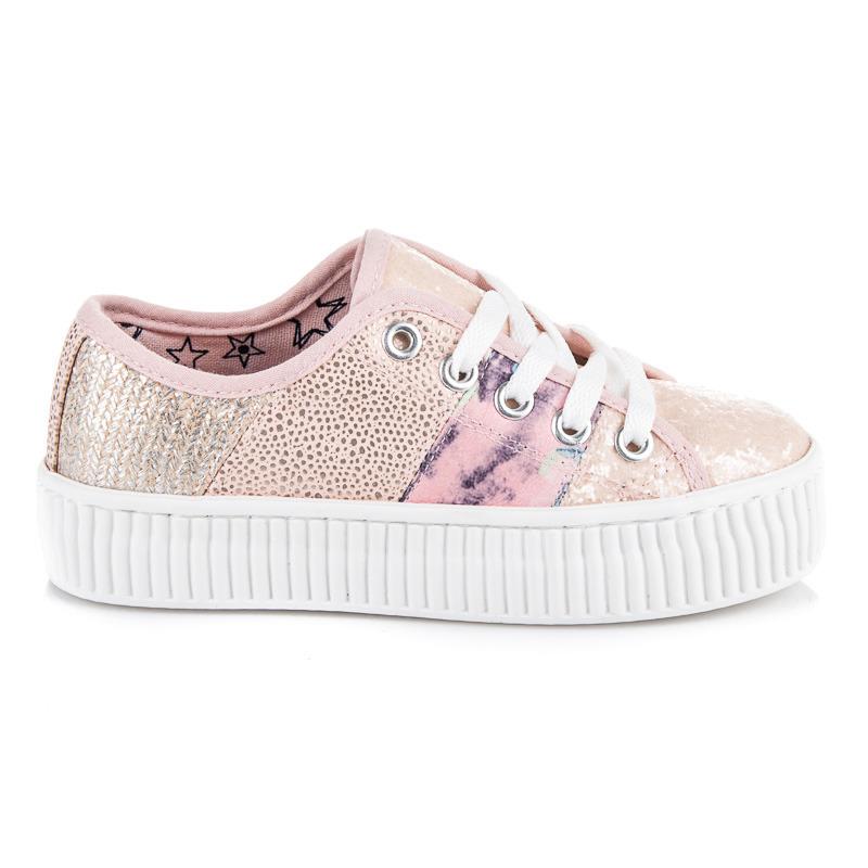 KYLIE Dětská sportovní obuv K1740003ROSA