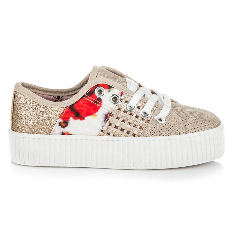 KYLIE Dětská sportovní obuv K1740004BE