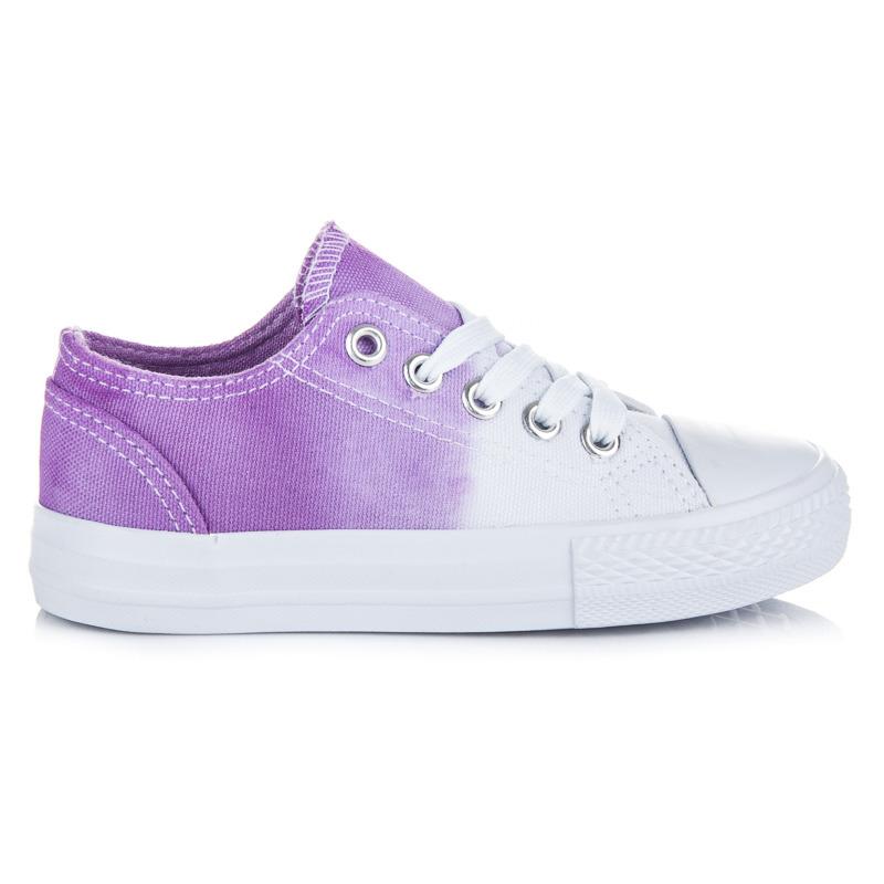 KYLIE Dětská sportovní obuv K1740301LILA