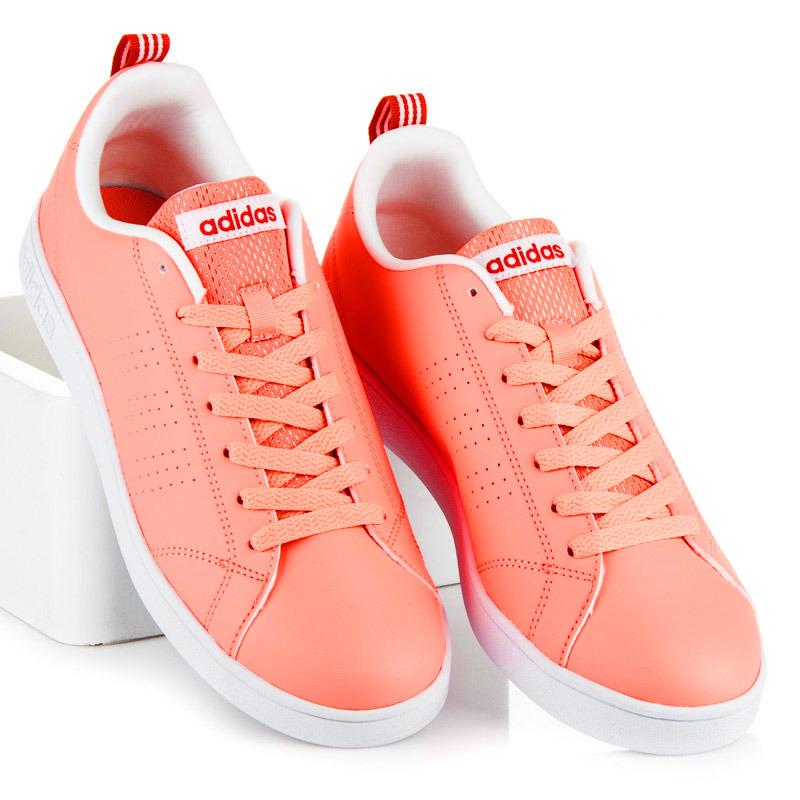 Dokonalé lososové dámské tenisky Adidas