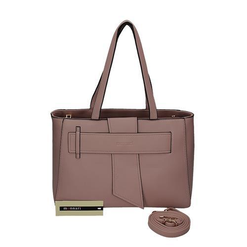 Elegantní růžová kabelka v originálním designu