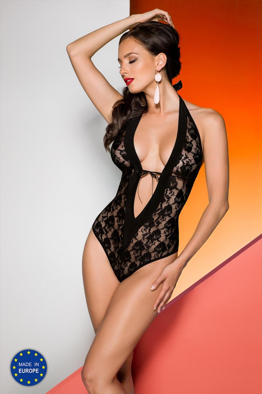 Erotické body Rayen body black