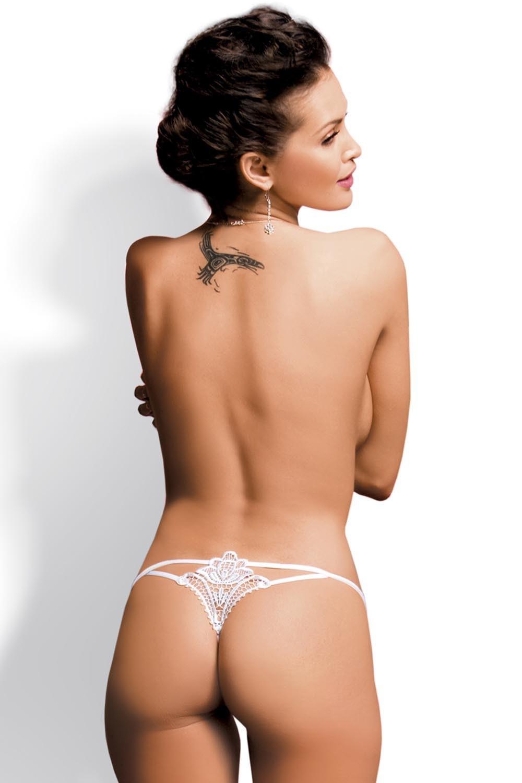 Erotické tanga Luiza thong white
