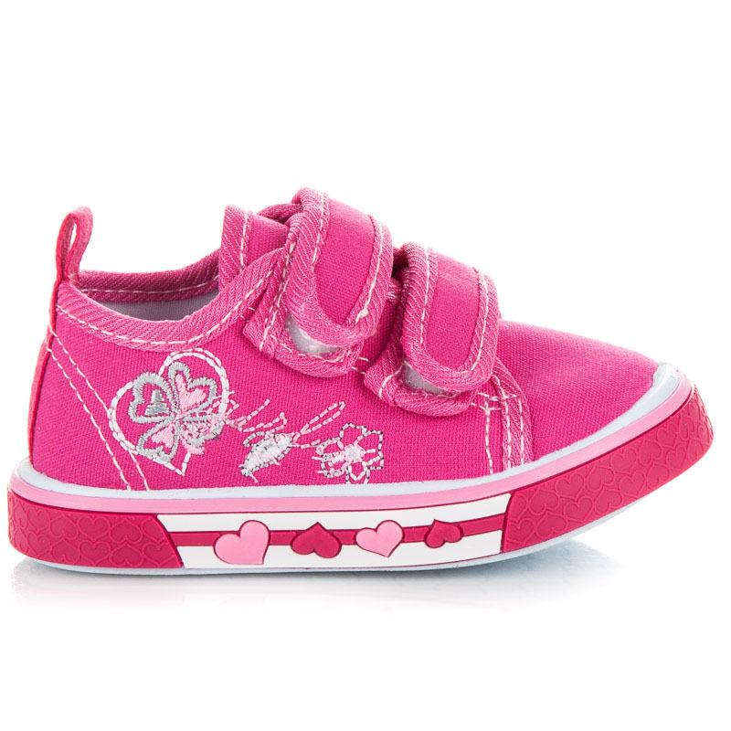 Fantastické růžové dětské tenisky