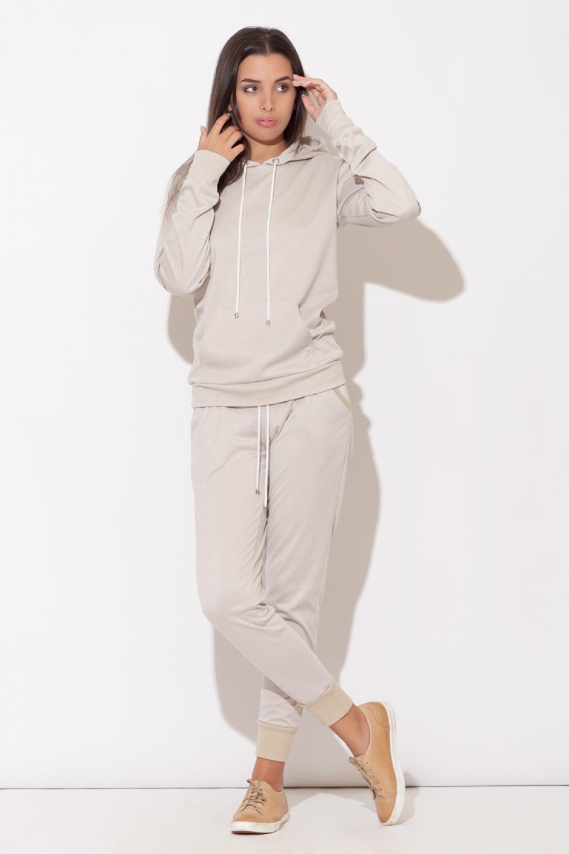 Fitness kalhoty K095 beige