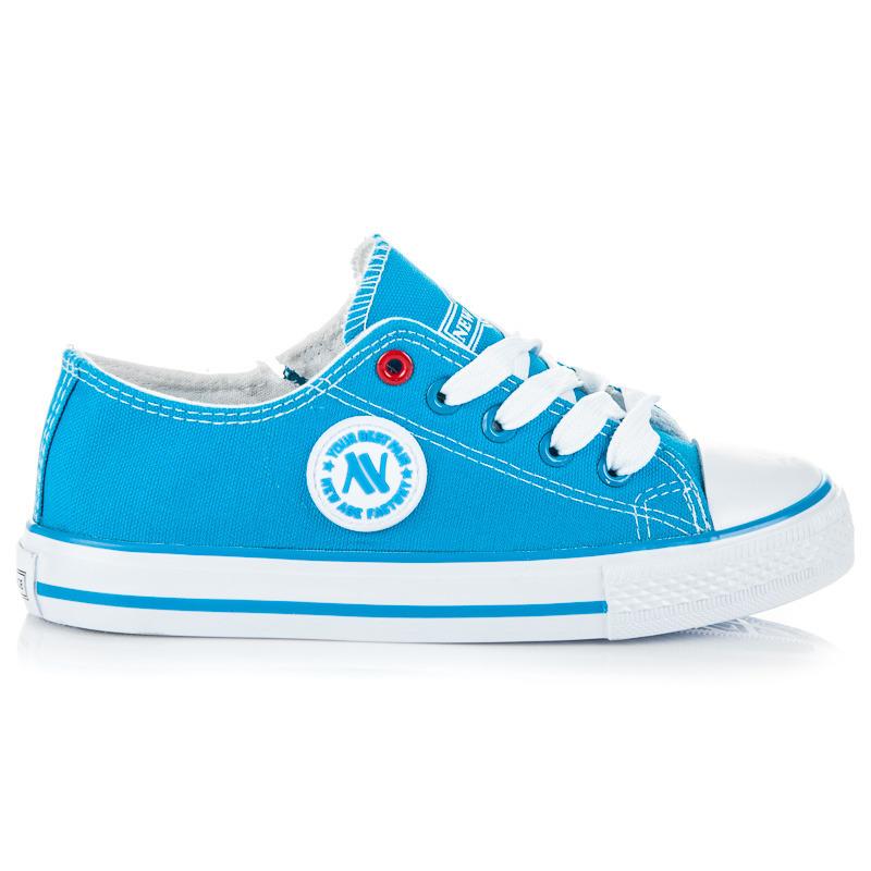 Klasické dětské modré tenisky