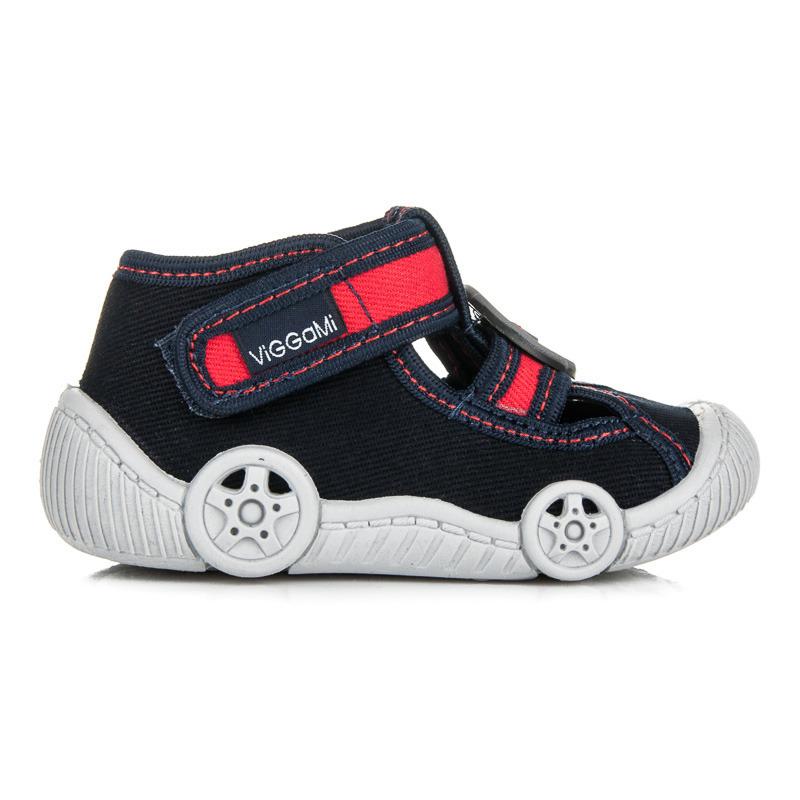 Klasické dětské tmavě modré papuče