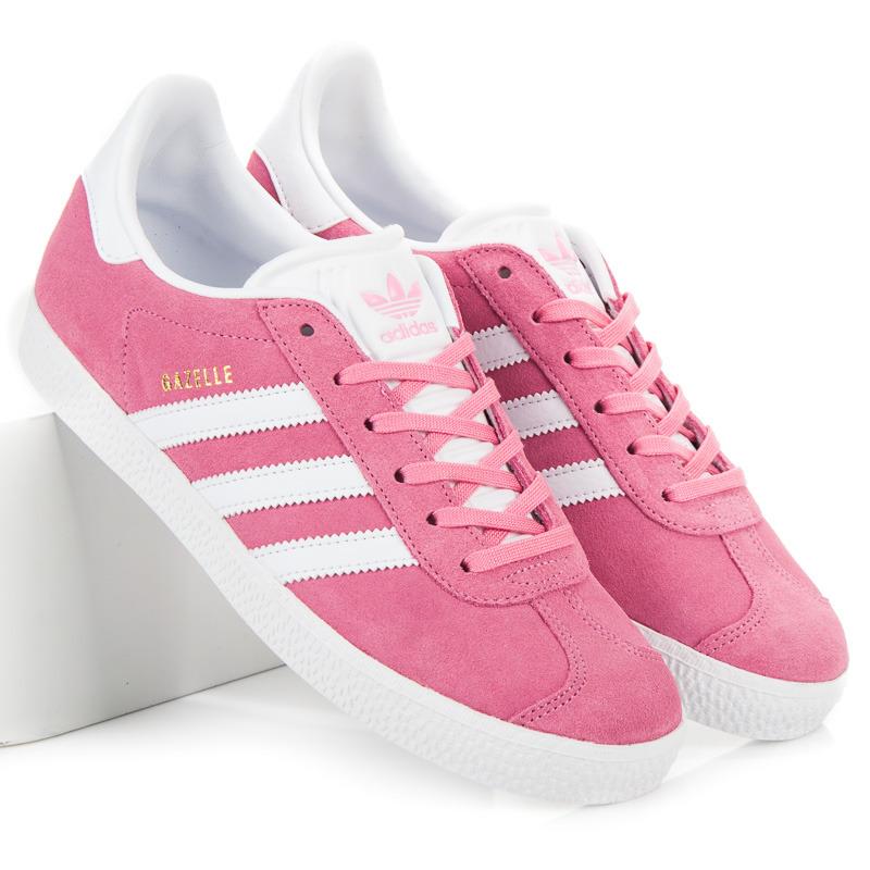 Krásné růžové dámské tenisky Adidas