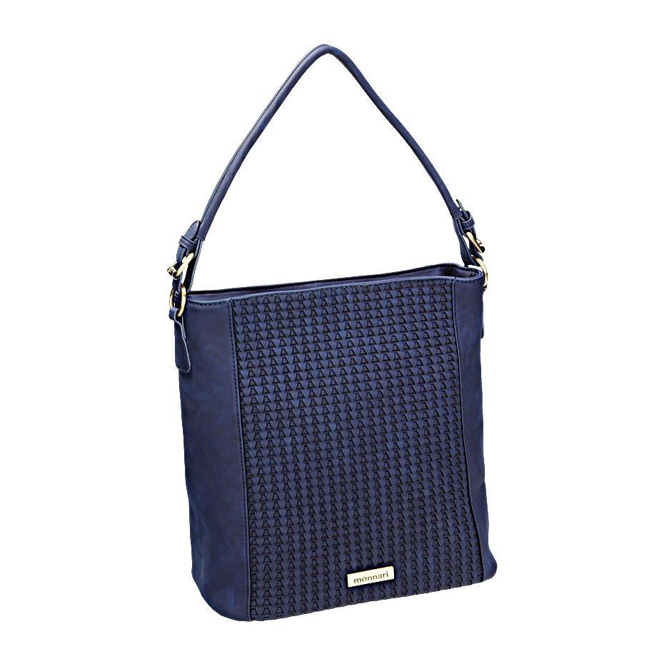 Luxusní modrá kabelka přes rameno