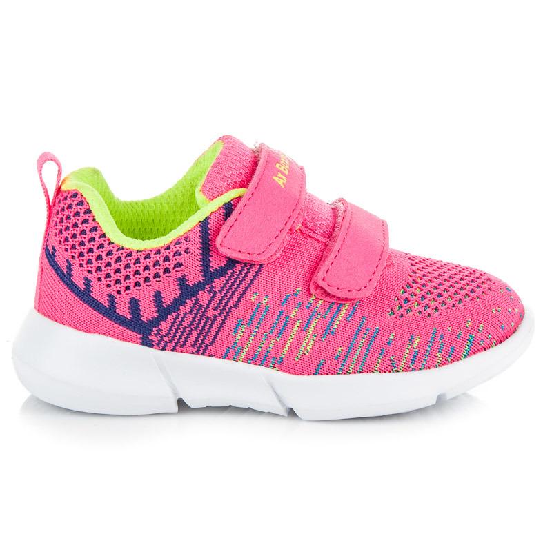 Luxusní růžové dětské tenisky