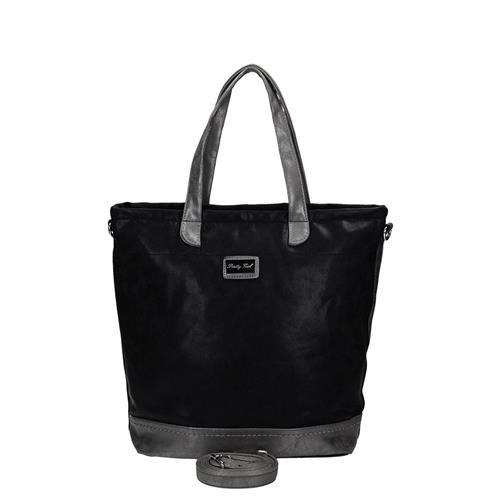 Módní černá kabelka z vysoce kvalitního materiálu