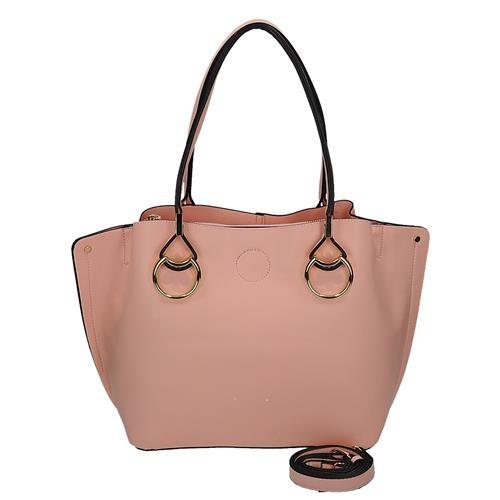 Nádherná růžová kabelka přes rameno