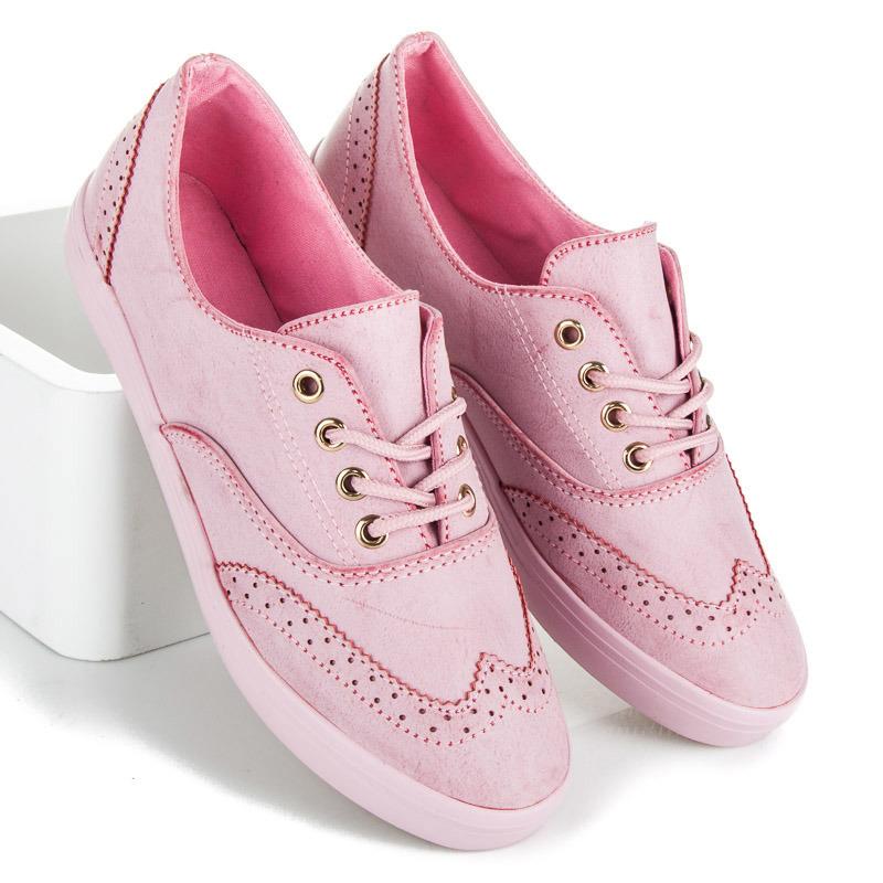 Nejstylovější růžové dámské tenisky