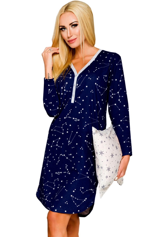 Noční košile Tamara 882 blue