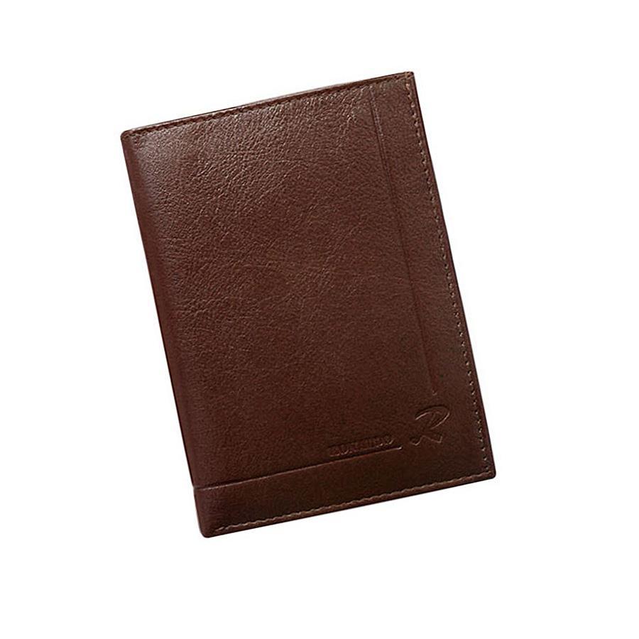 Originální hnědá pánská peněženka z pravé kůže
