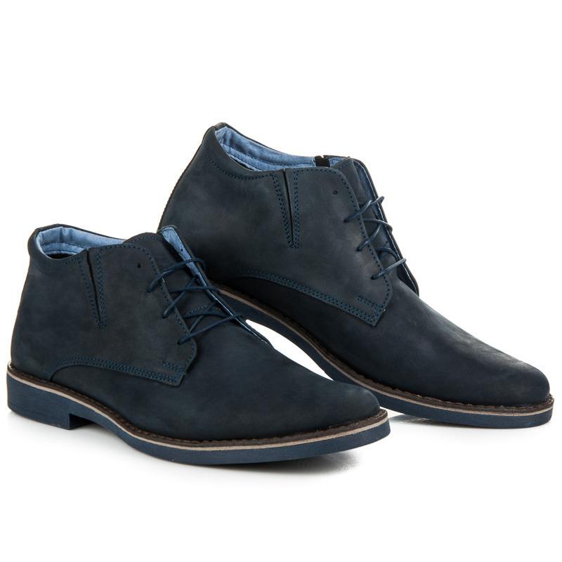 LUCCA Pánské kotníkové boty 056N