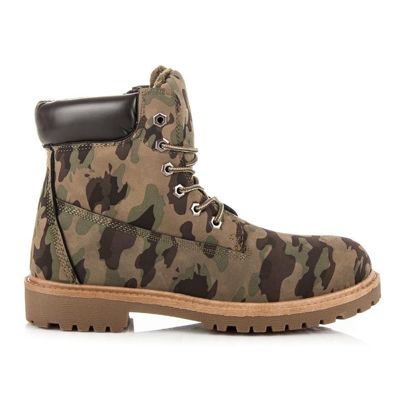 Neznámý výrobce Pánské kotníkové boty 82-956MI