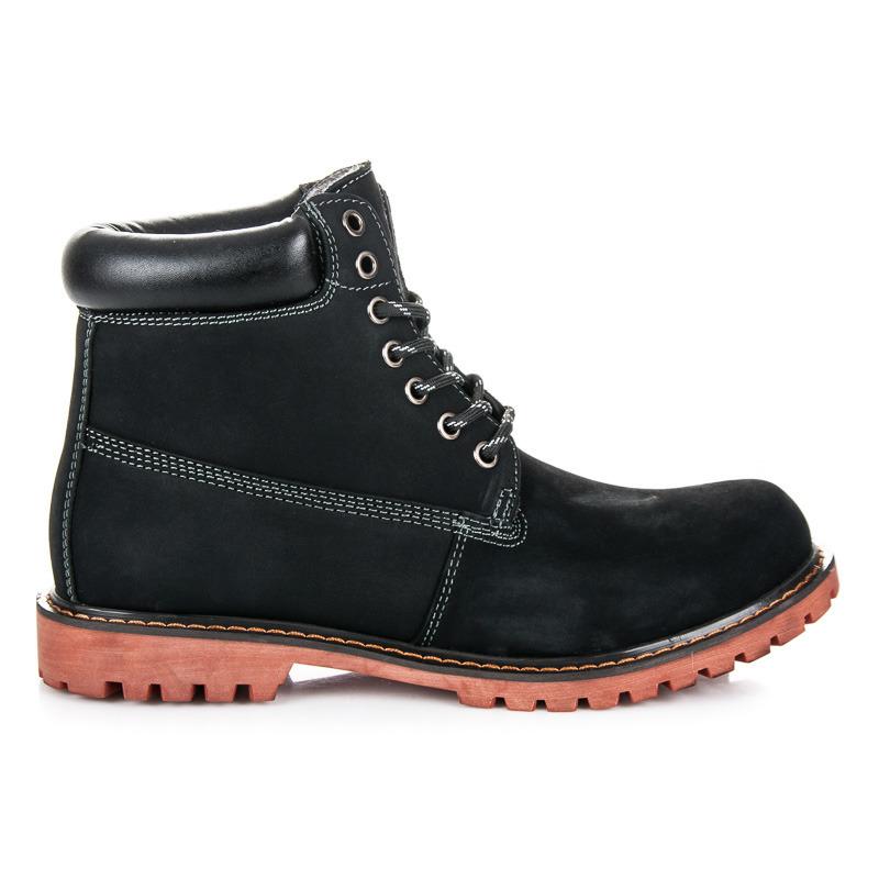 MAZARO Pánské kotníkové boty SD85-1B