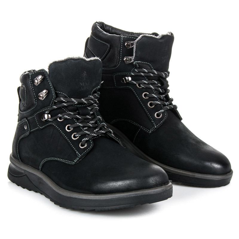 MAZARO Pánské kotníkové boty SD87-1B