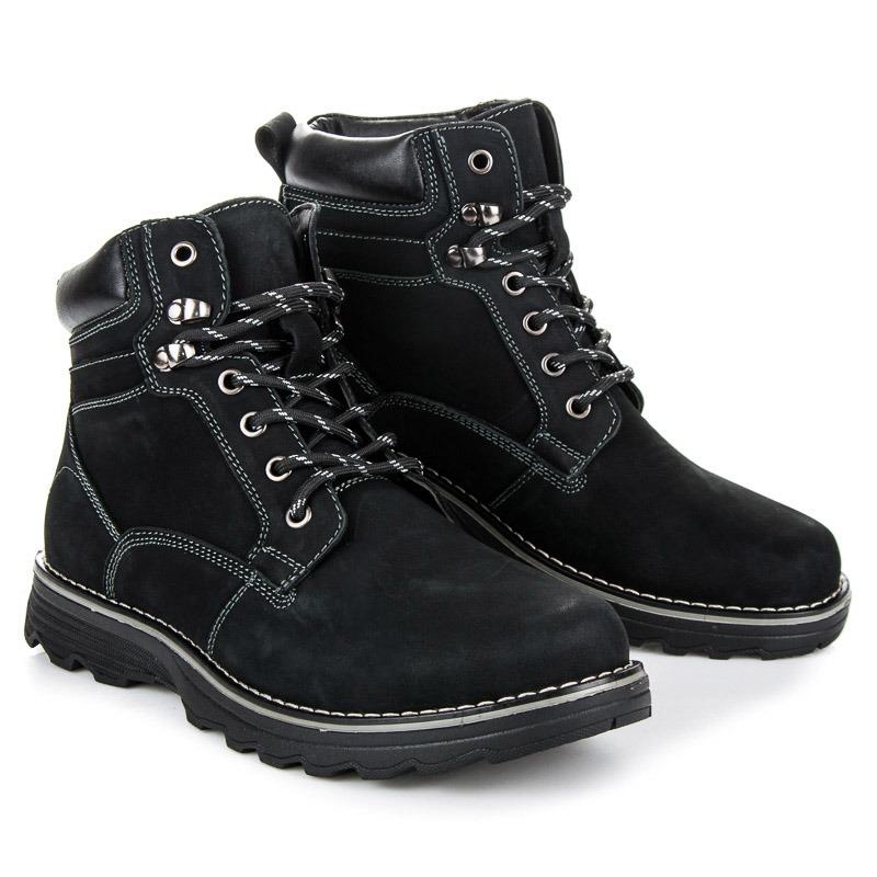 MAZARO Pánské kotníkové boty SD93-1B