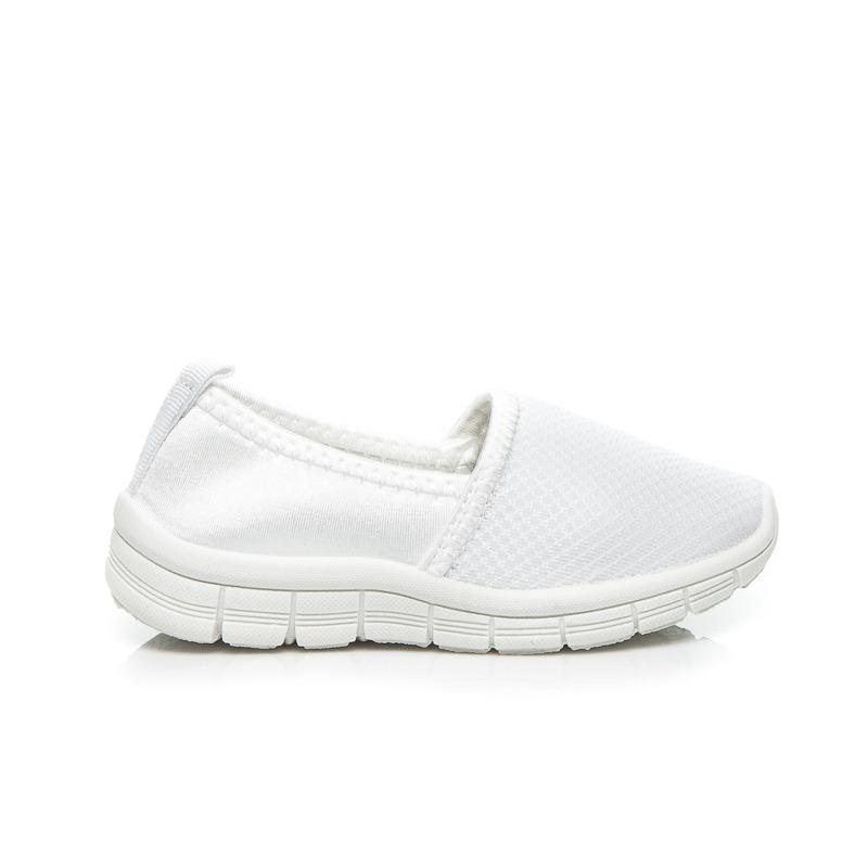 Parádní dětské bílé tenisky