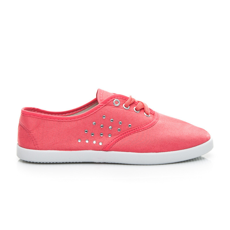 Perfektní moderní růžové dámské tenisky