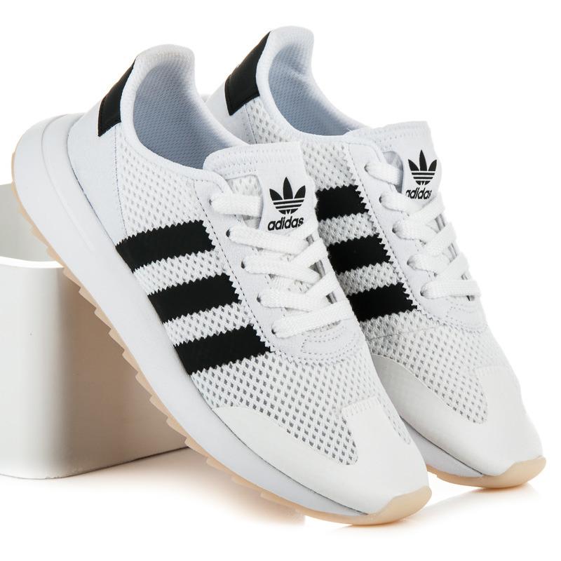 Pohodlné bílé tenisky Adidas